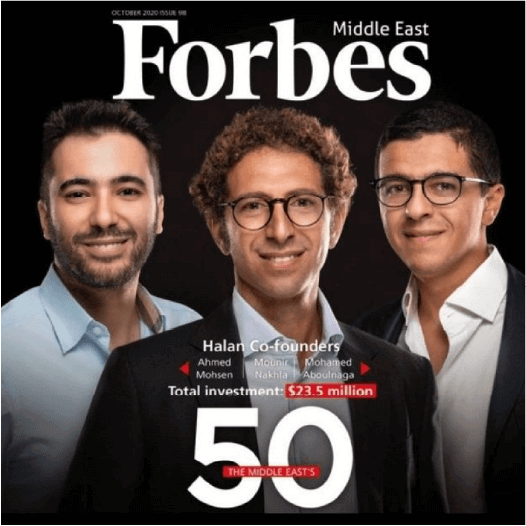 Halan featured on Forbes 50 most funded startups